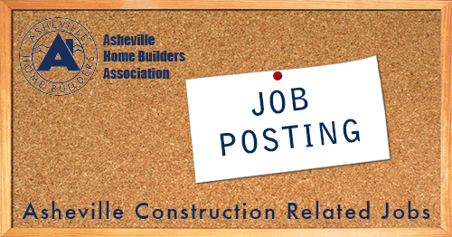Now Hiring: Executive Officer Position for Asheville Home Builders Association