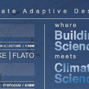 Climate Adaptive Design: Where Building Science meets Climate Science