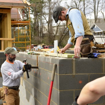 Asheville HBA Habitat for Humanity Build Day