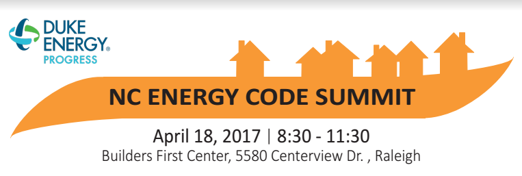 NC Energy Code Summit