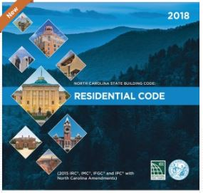 2018 NC Building Code Now Available for Purchase