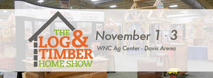 Log & Timber Home Show – Asheville Home Builders
