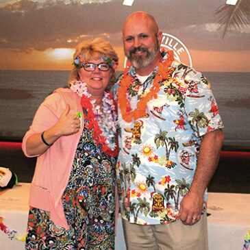 A Holiday Luau To Remember