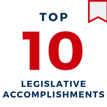 TOP 10 NCHBA Legislative Accomplishments