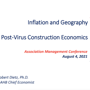 Inflation and Geography Post-Virus Construction Economics